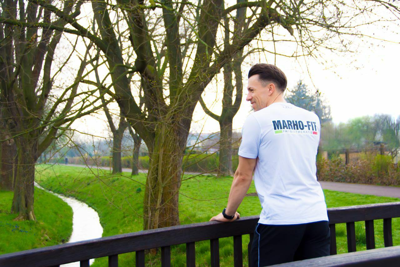 MARHO-FIT Physiotherapie in Magdeburg - Mathias Rhode - Training im Park