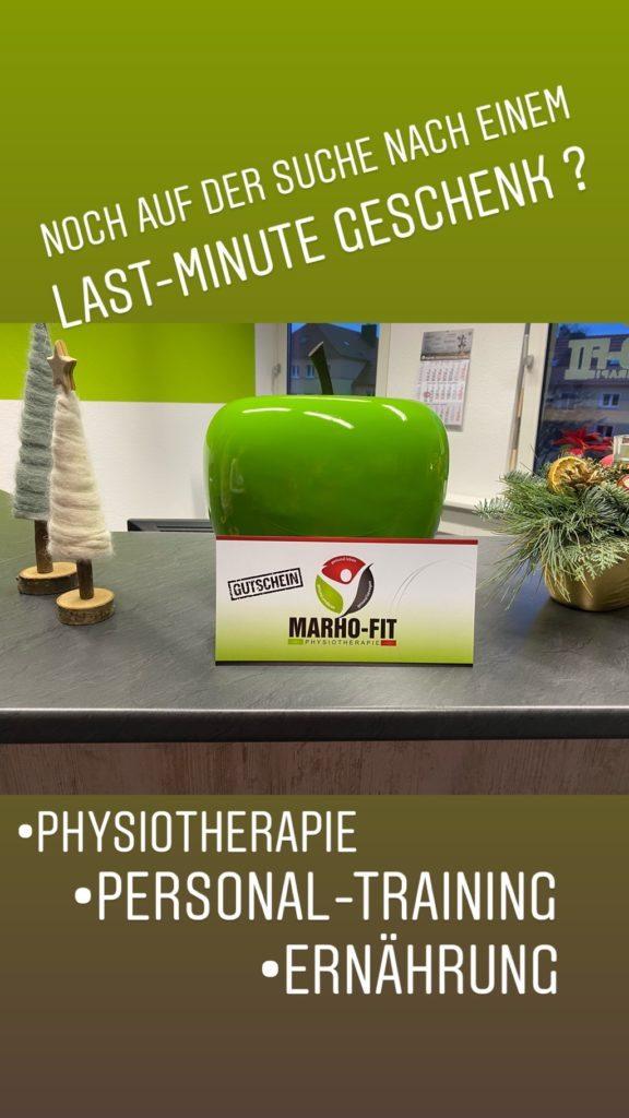 MARHO-FIT Physiotherapie in Magdeburg - Gutschein2